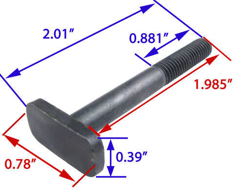 replacement t bolt for thule big mouth