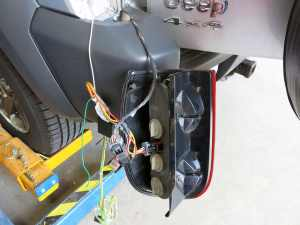 Curt TConnector Vehicle Wiring Harness with 4Pole Flat