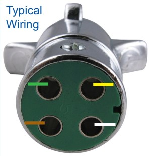 How to Wire 4Way Round Pin Trailer Wiring Connector PK11409 | etrailer