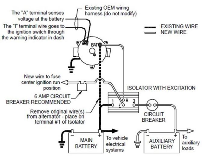 wiring diagram guest battery isolator wiring diagram hd