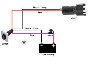 Wiring Diagram for Wiring Switch to Landing Gear Motor of