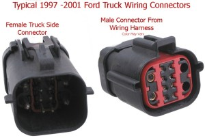 Installing a 7Way Trailer Connector on a 2004 Ford F250