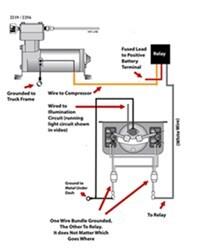 Wiring Diagram for Firestone Level Command II OnBoard