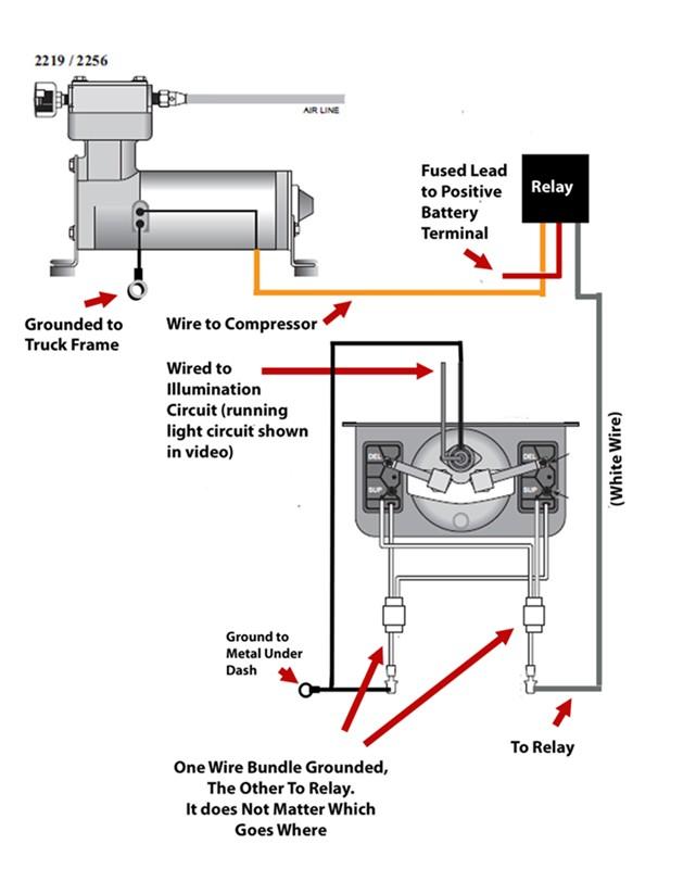 wiring diagram for air bag suspension  sl3 swm wiring
