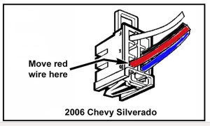 Can Brake Controller Wiring Harness from a 2001 Chevy