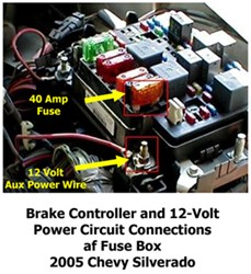 Activating 12Volt Accessory Circuit to 7Way on 2004 Chevy Silverado 2500 | etrailer