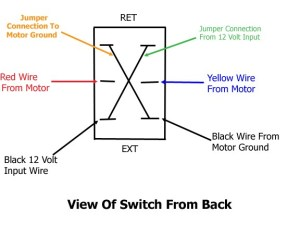 Wiring For Replacement Switch On Atwood Landing Gear