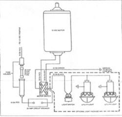 Wiring Diagram For UltraFab Electric AFrame Jack