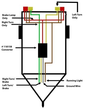 Wiring A Trailer So That Turn Signal And Brake Signal Are