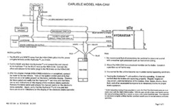 Wiring Diagrams for Hydrastar Electric Over Hydraulic Trailer Brake Actuators | etrailer