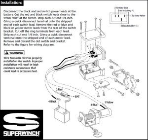 Replacement Switch For Older Model Superwinch Electric Winch | etrailer