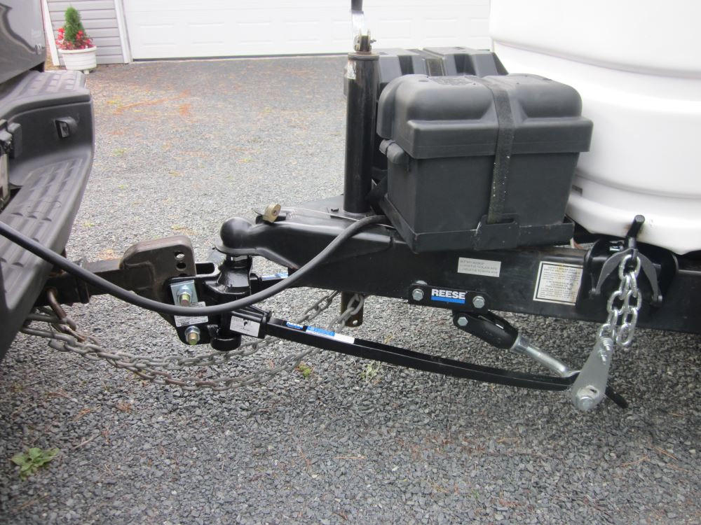 Cam Weight Dual Hitch Distribution