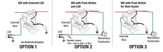 redarc smart start battery isolator with wiring kit  12