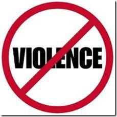 non a la violence