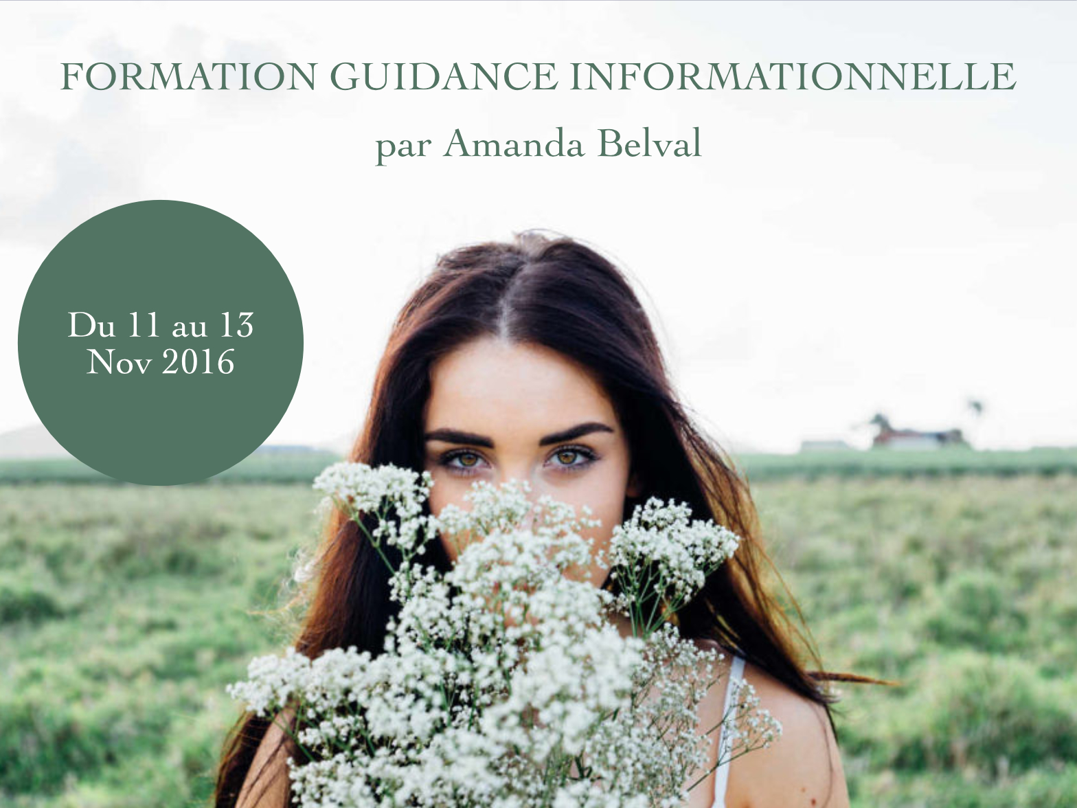 Formation guidance informationnelle - nov 2016 - Être Soi