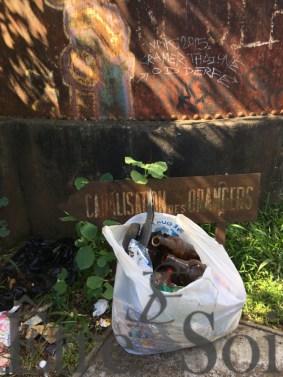 dechets - Mafate - canalisation des orangers - Être Soi