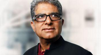 portrait Dr Deepak Chopra