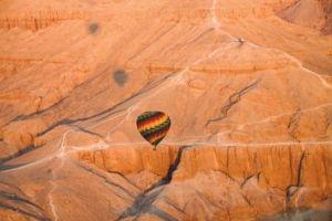 egypte - montgolfiere - Être Soi