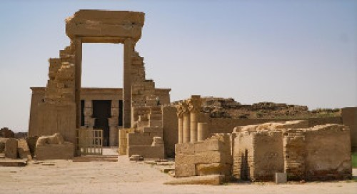temple de denderah - egypte - Être Soi