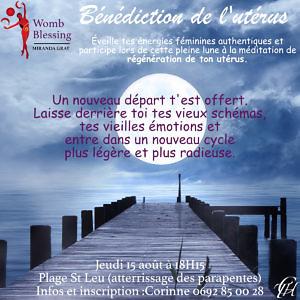benediction de l'uterus - 15 aout 2019 - reunion - corinne merlo - kaz eveil