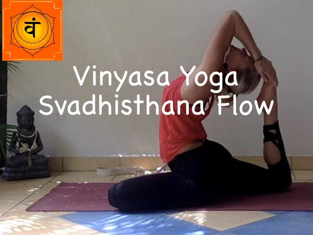 svadhisthana flow - cours de yoga - sandra grange - être soi