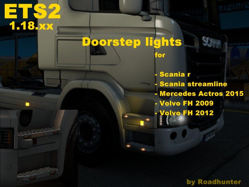 DOORSTEP LIGHTS V10 ETS 2 Euro Truck Simulator 2 Mods