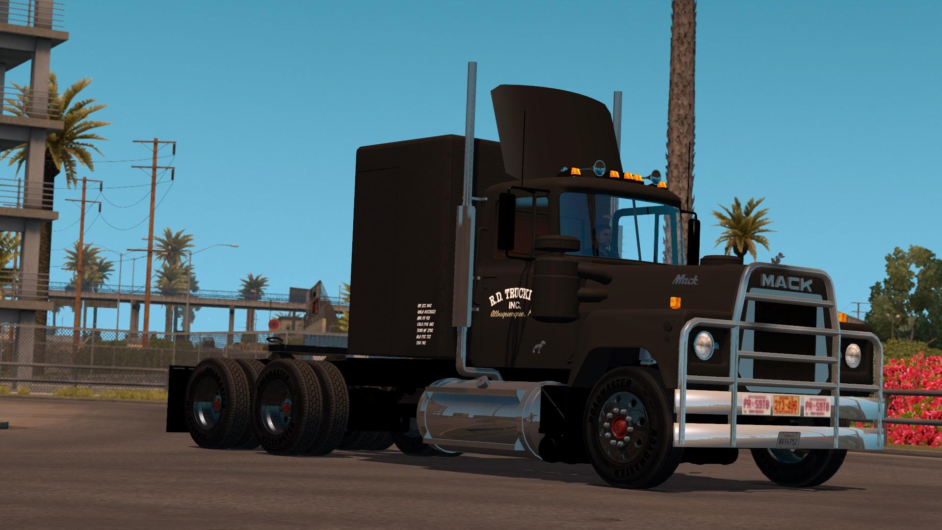 Mack Rs700 Convoy Truck Euro Truck Simulator 2 Mods