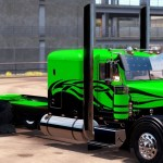 Custom Peterbilt Mod Skin Euro Truck Simulator 2 Mods American Truck Simulator Mods