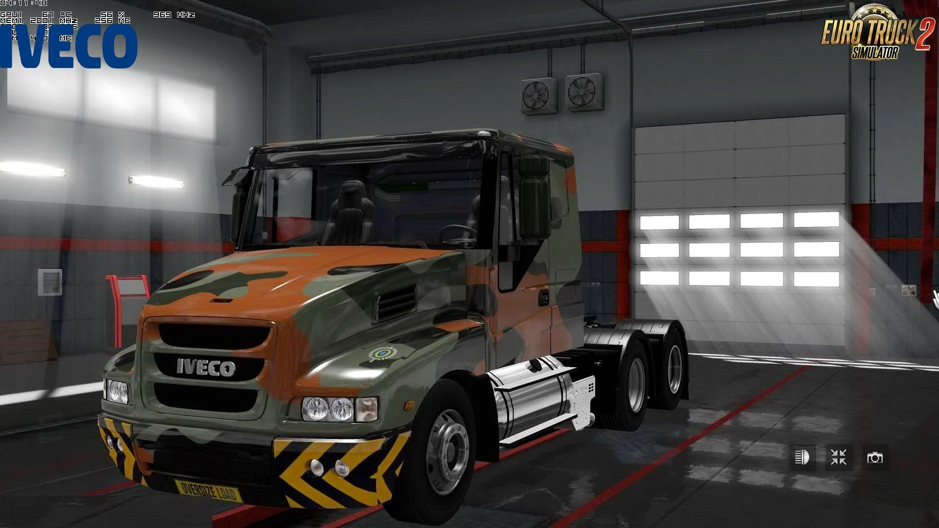 IVECO STRATOR INTERIOR V41 BY CPMORTIFICATION ETS2