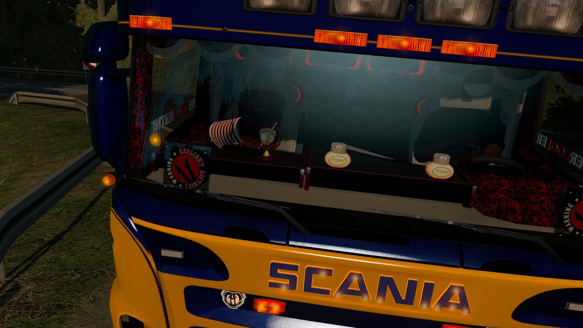 Rjl 5 Series Danish 1 35 Interior Mod Euro Truck