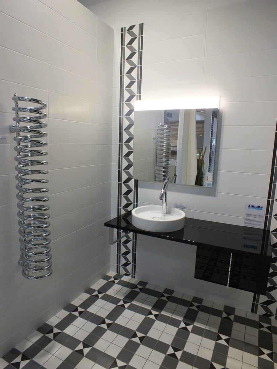 salle de bain a vitre plans et