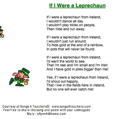 Leprechaun Songs