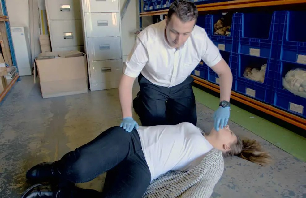 Onsite workplace first aid training courses