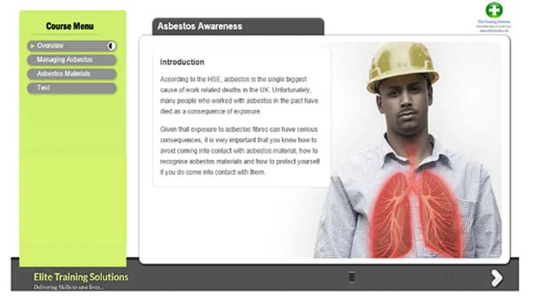 E-Learning Asbestos Awareness Training