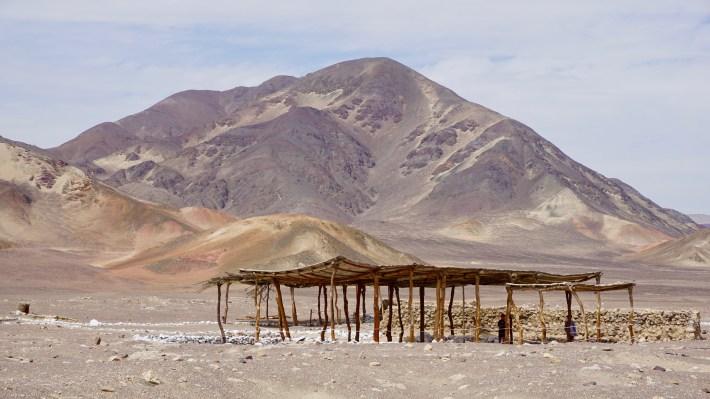 Nazca - Les différents tombeaux de Chauchilla