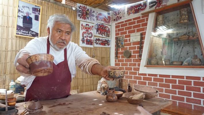 Nazca - Les poteries de plus de 2000 ans