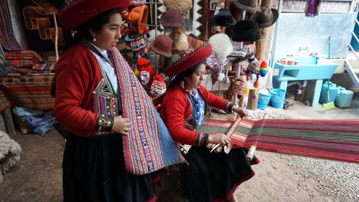 Vinicunca, Machu Picchu et haut là là - Tissage