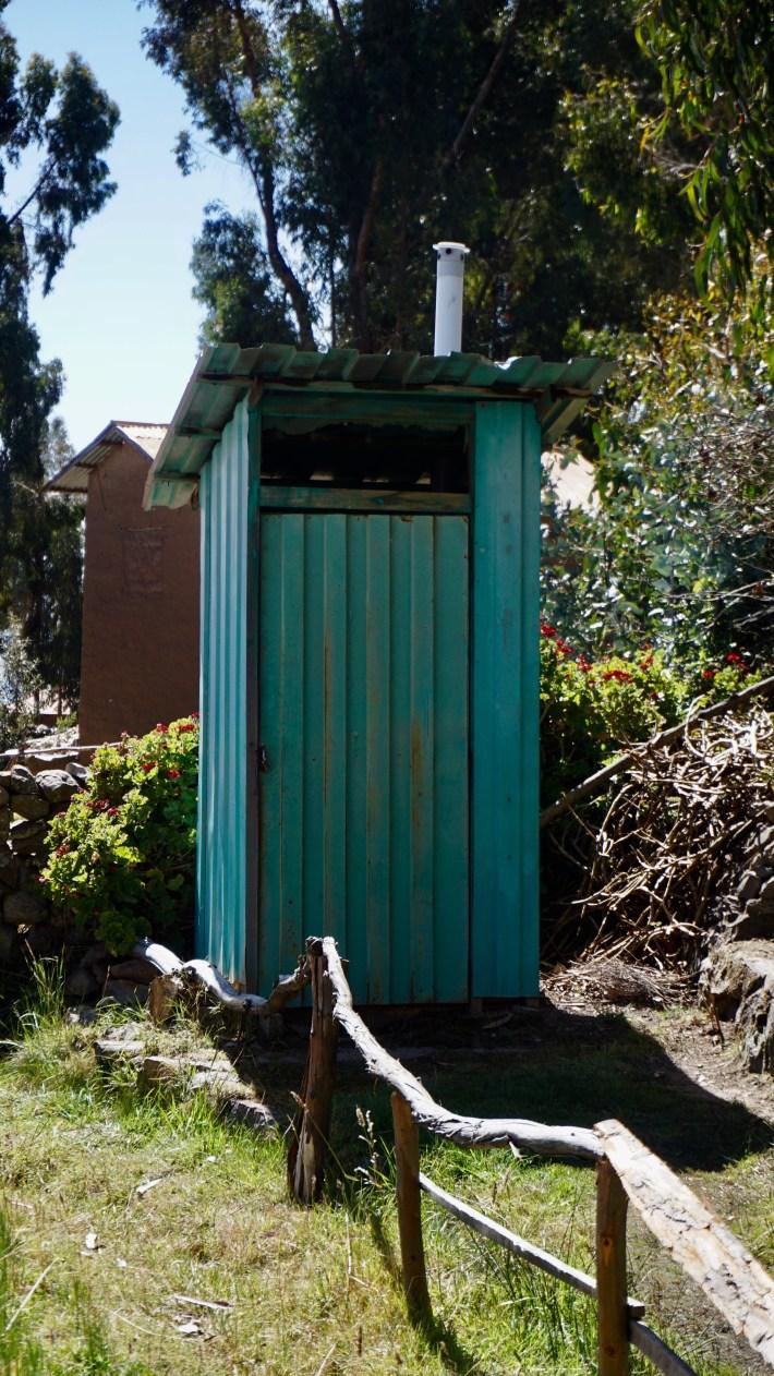 Puno ...? Ou plutôt le lac Titicaca - Notre toilette