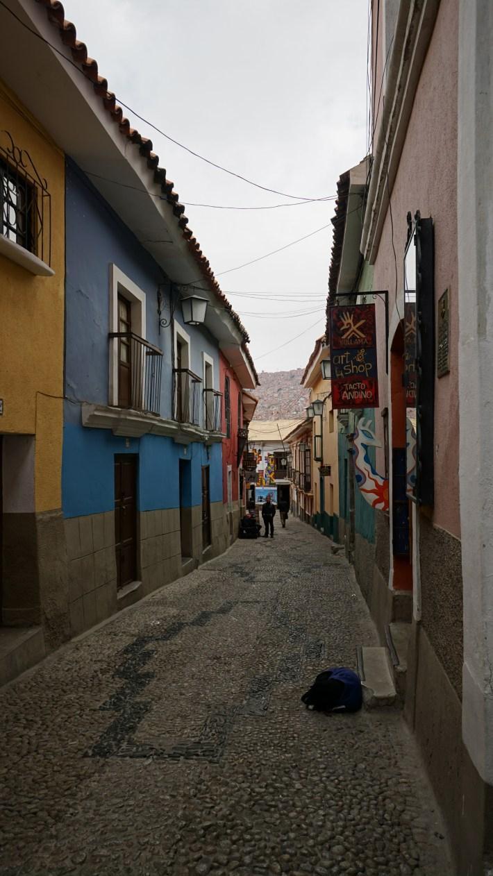 Ça gaz à La Paz - Rue d'une autre époque
