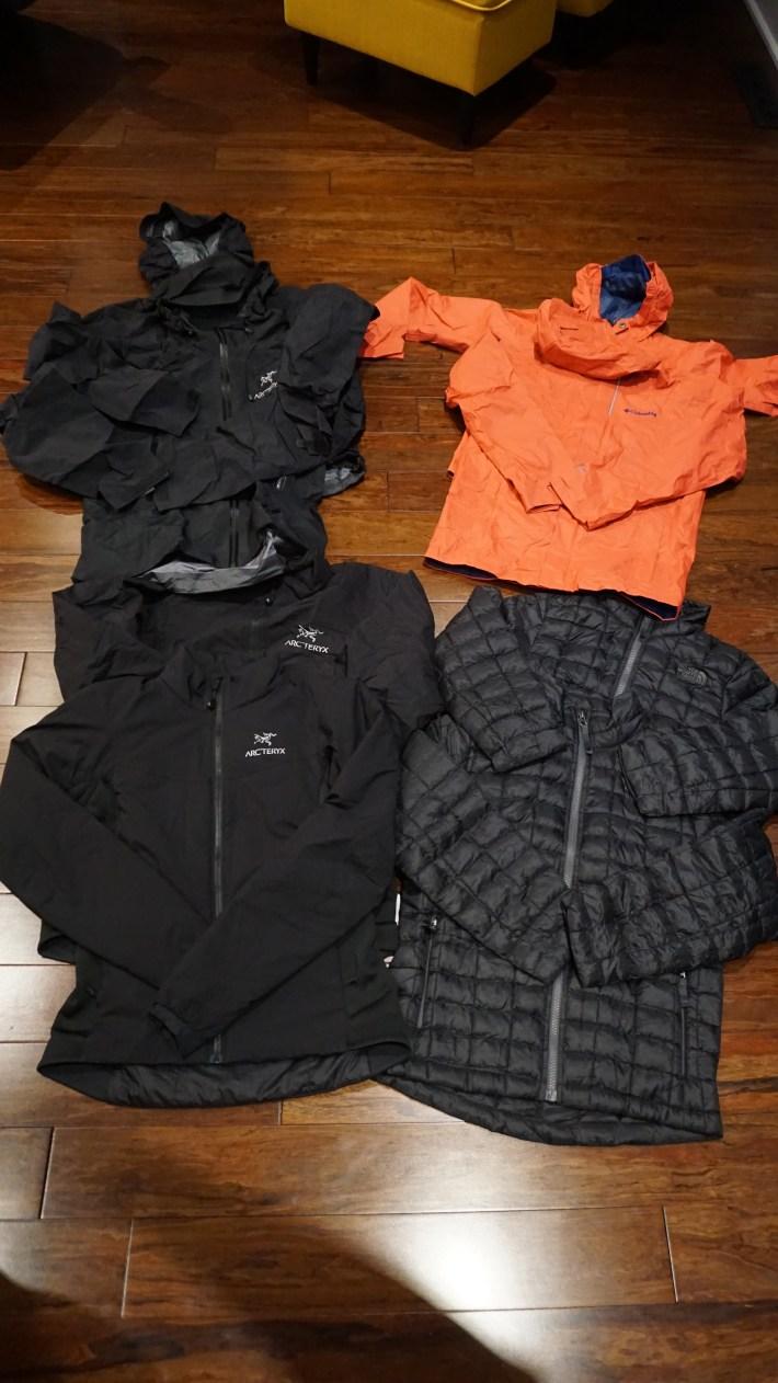 Notre équipement pour notre voyage autour du monde - Nos manteaux