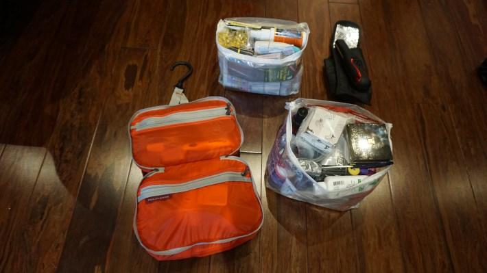 Notre équipement pour notre voyage autour du monde - Trousse beauté et santé