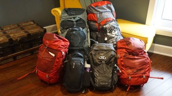 Notre équipement pour notre voyage autour du monde