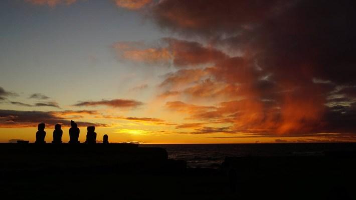 Île de Pâques - À la recherche de Rapa Nui pool - Ahu Tahai