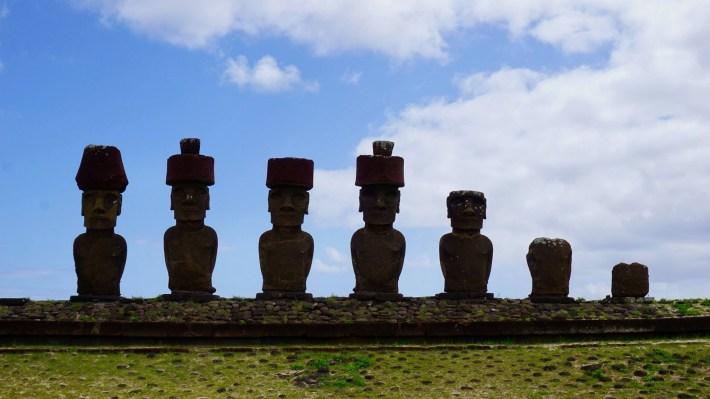Île de Pâques - À la recherche de Rapa Nui pool - Ahu Nau Nau