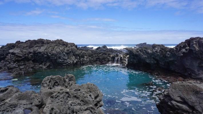 Île de Pâques - À la recherche de Rapa Nui pool - Rapa Nui Pool?