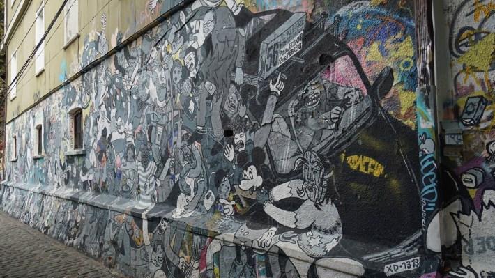 Trois petits tours au Chili et puis s'en vont en Patagonie - Street art #3