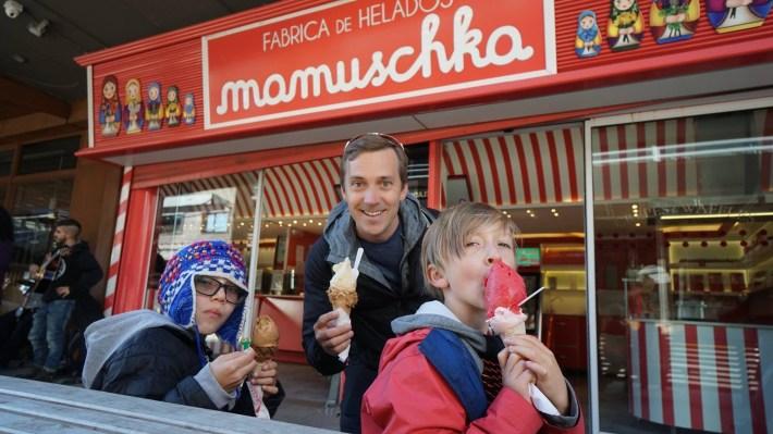 Descente au bout du monde - Mamuschka