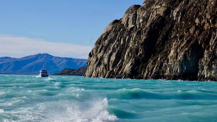 Descente au bout du monde - Parc des glaciers