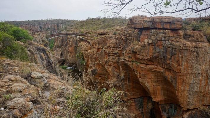 On part à la chasse aux photos dans le Kruger en Afrique du Sud - Bourke's Luck potholes