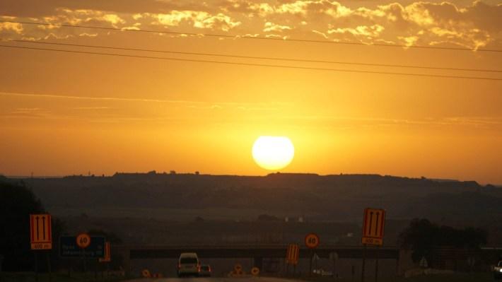 On part à la chasse aux photos dans le Kruger en Afrique du Sud - Coucher du soleil